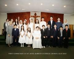 5월 6일 세례식 단체 1