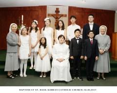 5월 6일 세례식 단체 2